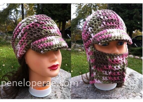 Crochet Fold Down Hat Pattern From Peneloperaecrochet On Etsy Studio