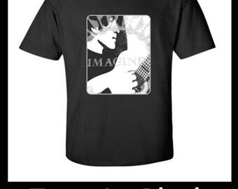 "John Lennon T-Shirt - ""Imagine"" -- FREE SHIPPING! (U.S. Residents Only)"