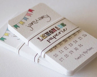 Sale Printable Calendar 2013 Mini Doodle Desk Calendar