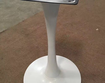 Tulip Round table, round table base, table base, kitchen table, table legs, dining table, round, metal table base, pedestal table,