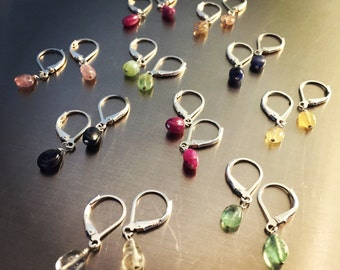 "Affordable ""Gems for Everyone"" Earrings"