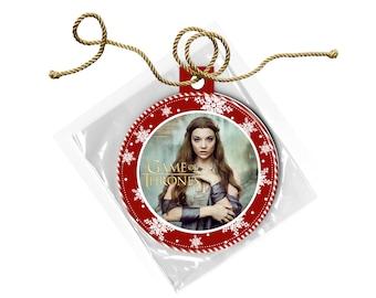 Game of Thrones Margaery Tyrell Natalie Dormer  Christmas Ornament