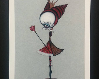 Queen of Hearts - Limited edition Fine art giclee print
