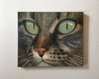 Cat Painting - Original Painting - Cat - Animal Painting - Acrylic Painting