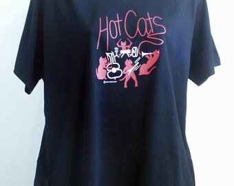 Hotcats Band T shirt Climate Neutral Organic Cotton
