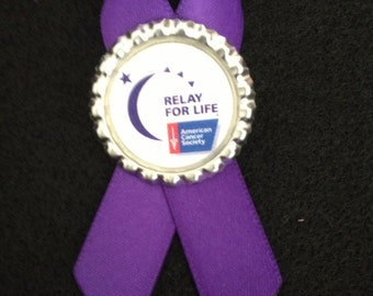 Relay for Life pin