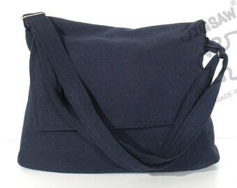 10% Off [Orig. 18.99] Messenger bag Navy blue bag Crossbody bag Sling purse Shoulder Bag Tote