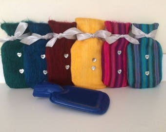 Alpaca Hot Water bottle and cover