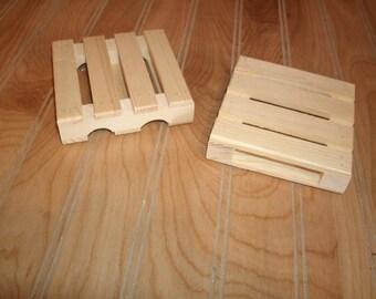 Pallet coaster,set of 4  wood coaster, drink coaster, mini pallet coaster, Rustic pallet coaster, wood pallet coaster