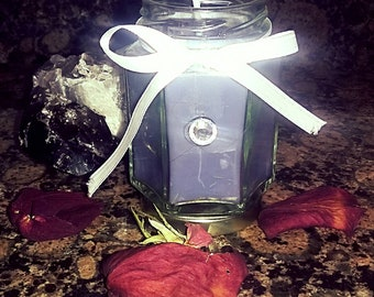 Handmade Soy and Beeswax Banishing Candle
