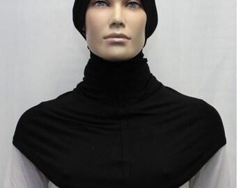 black long hood
