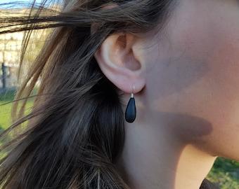 Earrings drops Fimo