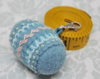 MADE TO ORDER free us ship - Delicate Spring Double Small Bottlecap pendant wearable chatelaine pincushion