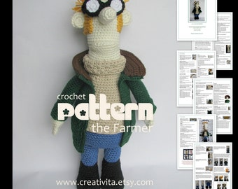 The Farmer - a crochet pattern