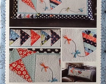 Quilt Pattern by Kimberbell:  Let's Go Fly a Kit! Bench Pillow