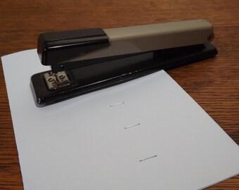Swingline Office Stapler ~ Brown  and Beige ~ Retro Desk Accessory ~ Dependable Utility Stapler