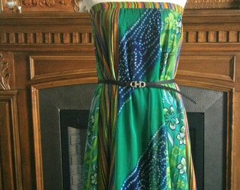 Moroccan-inspired Convertible Maxi Skirt/Dress.