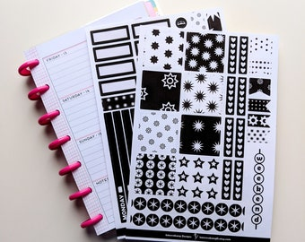 Starburst Mini Happy Planner Kit - Collection - Planner Stickers