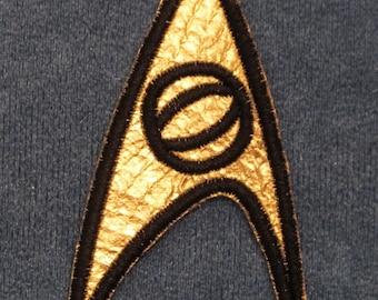 Star Trek TOS Original Series Uniform Insignia Patch - Sciences USS Enterprise