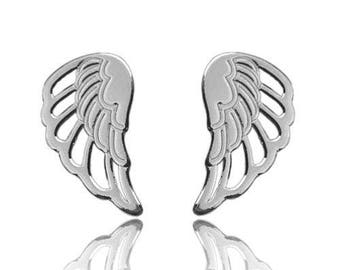 Earrings Wings Sterling Silver 925