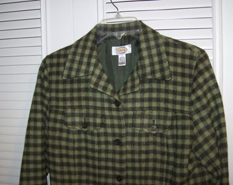 Talbot's Checkered Future Saturday Jacket for Your Favorite Jeans Size 4