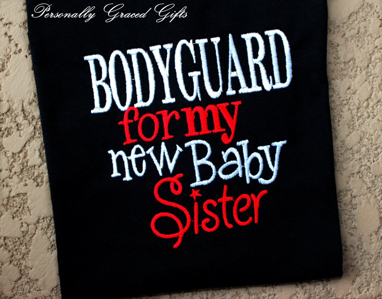 Big Brother or Big Sister Bodyguard For My New Baby Sister