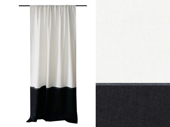 subcat grommet color overstock block panel garden less colorblock for curtains home curtain pattern kendall drapes