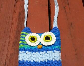 Owl crossbody bag (unlined)