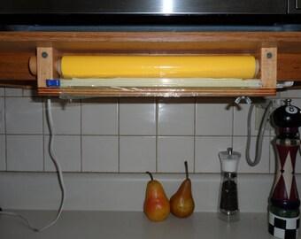 Plastic Wrap Rolls Dispenser