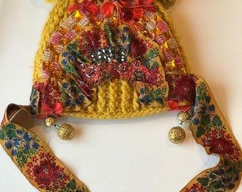 Petrushka Winter Pom Pom Hat
