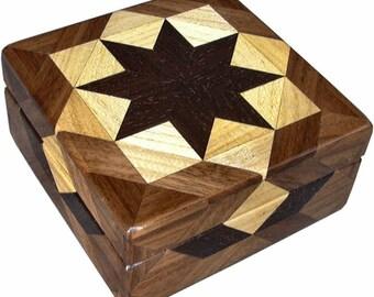 Square Hackberry Box