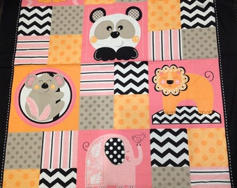 Zoo Animals quilt