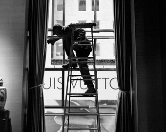 A rung up, Tiffany & Co, NYC.
