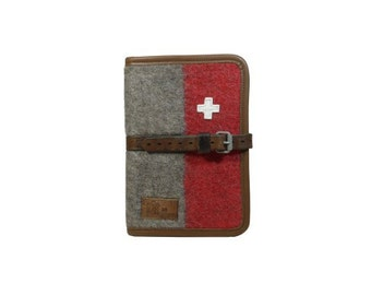 WD65 Swiss Army Blanket Writing Case A5 by Karlen Swiss