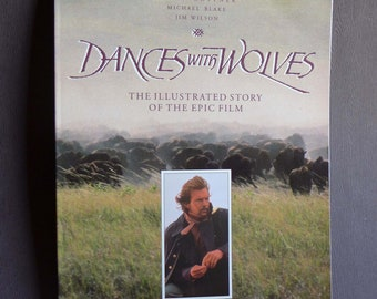 Dances With Wolves Paperback Book from the Film