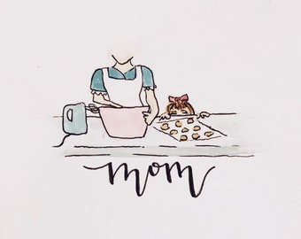 Cooking With Mom - Mother's Day Card