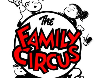 Family Circus SVG File!