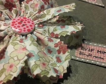 Bachelorette party liberty flower brooch