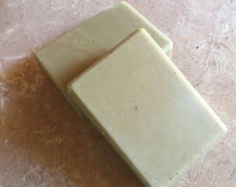 Ginger-Lemongrass Goat Milk Soap