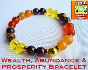 Law of Attraction Bracelet, The Law of Attraction Bracelet, Manifesting Bracelet, Manifestation Bracelet, Abundance Bracelet, Prosperity