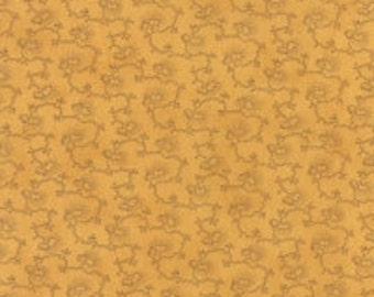 Wild Orchid Tropical Vine Gold 277214 - 1/2yd