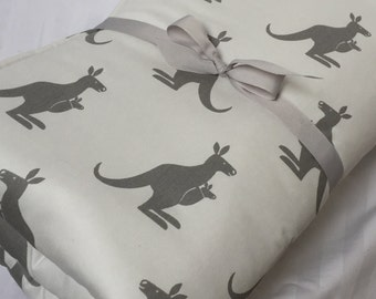 Baby Play Mat, Padded Floor Blanket, Kangaroo Mat, Tummy Time Mat, Newborn Gift, Baby Shower Gift, Monogrammed Play Mat, Baby Quilt, Bedding