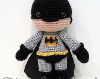 Batman Amigurumi Häkeln Puppe