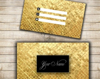 Floral glitter business card 2 sided glitter chevron business card template designs gold luxury business card 2 sided print business card template instant download gold and black lux style colourmoves