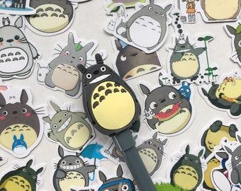 25 My Neighbor Totorro Stickers Kawaii