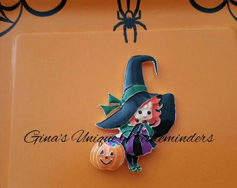Cute Witch Needle Minder