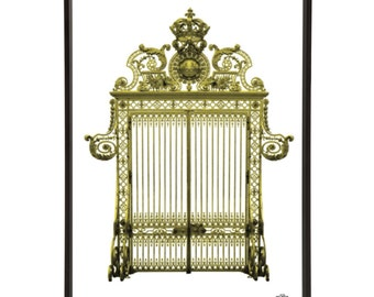 Versailles Palace Gates Pop Art Print