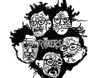 "The Rakers Self-titled Vinyl 10"" EP"
