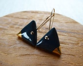 Black Gold Tip Triangle H...