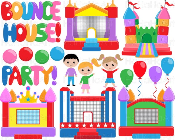 Bounce House Designs Embroidery on bounce house business card, haunted house embroidery design, bounce house marketing, bounce house stationery, bounce house logo design,